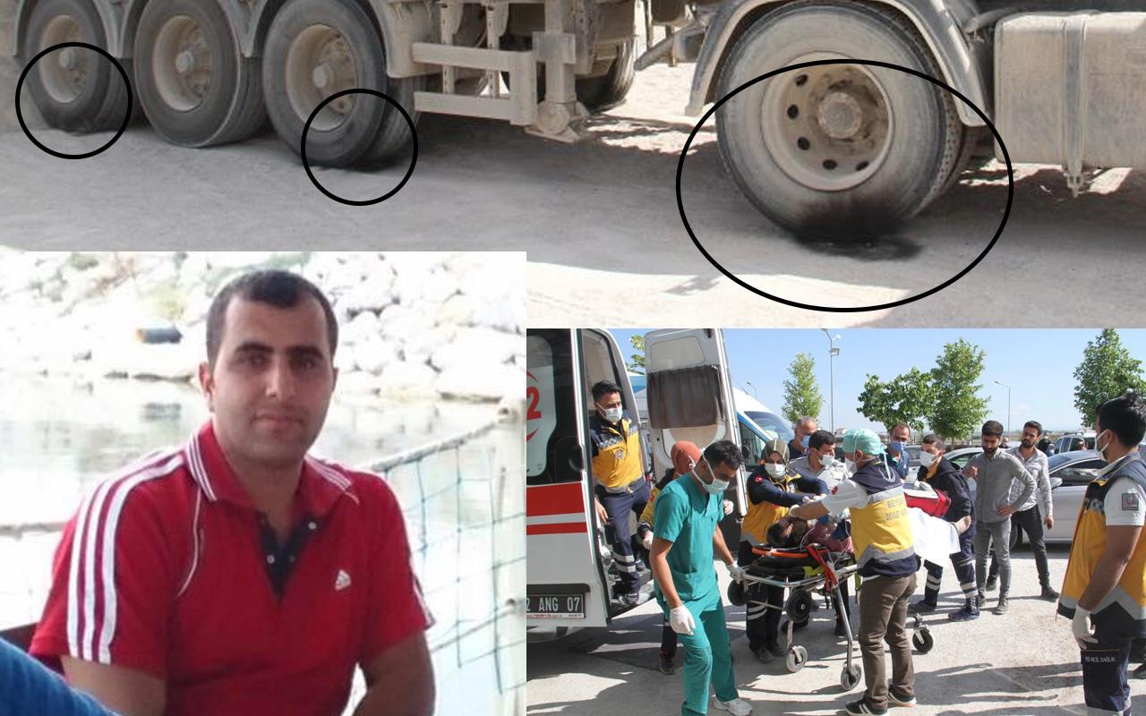 Konya'da damperi yüksek gerilim hattına temas eden kamyonun şoförü öldü