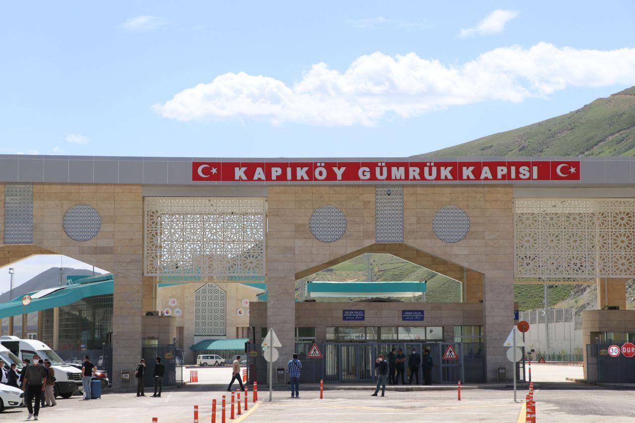 Van'da Kapıköy Gümrük Kapısı açıldı ama gelen yok