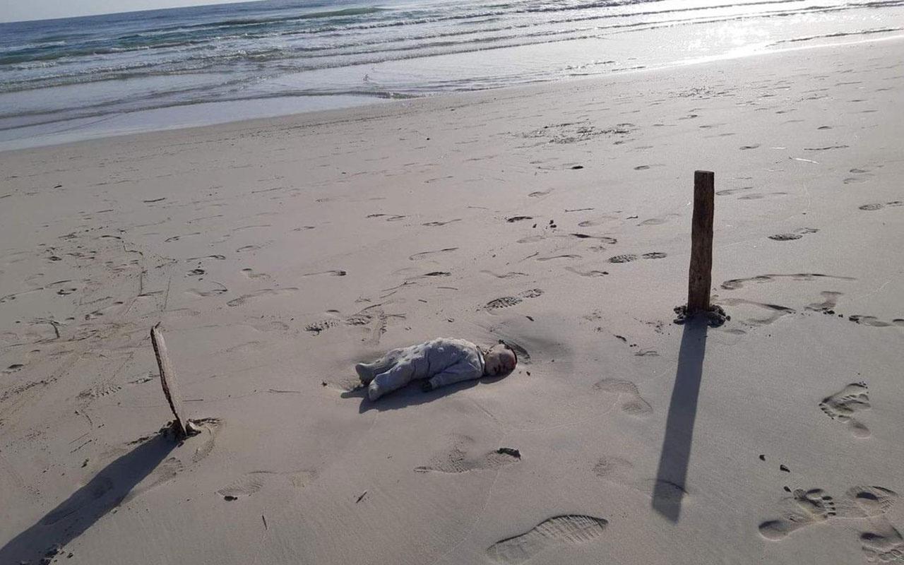 Dünyayı dehşete düşüren fotoğraflar! Ünlü plaja bebek cesetleri vurdu