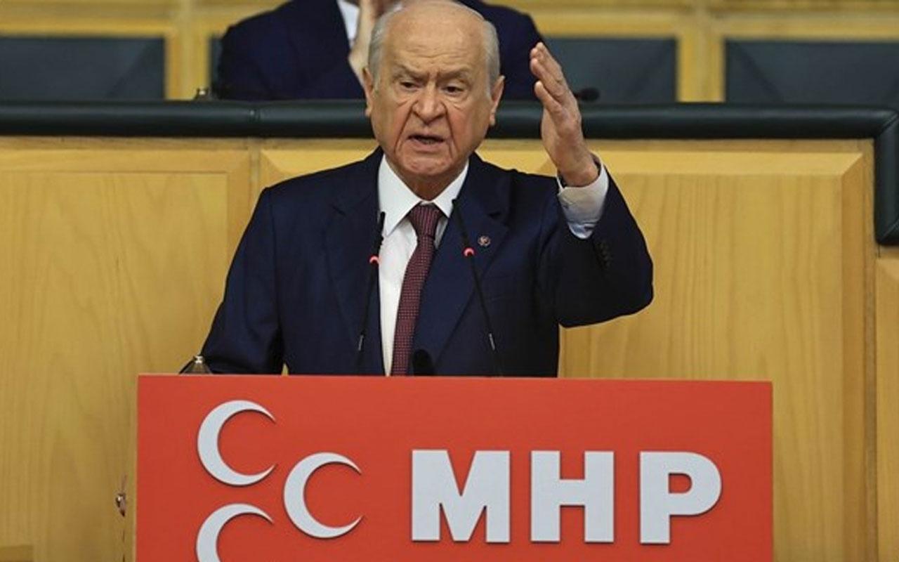 Devlet Bahçeli: Kimse İçişleri Bakanı'nın boynuna tasma geçiremez