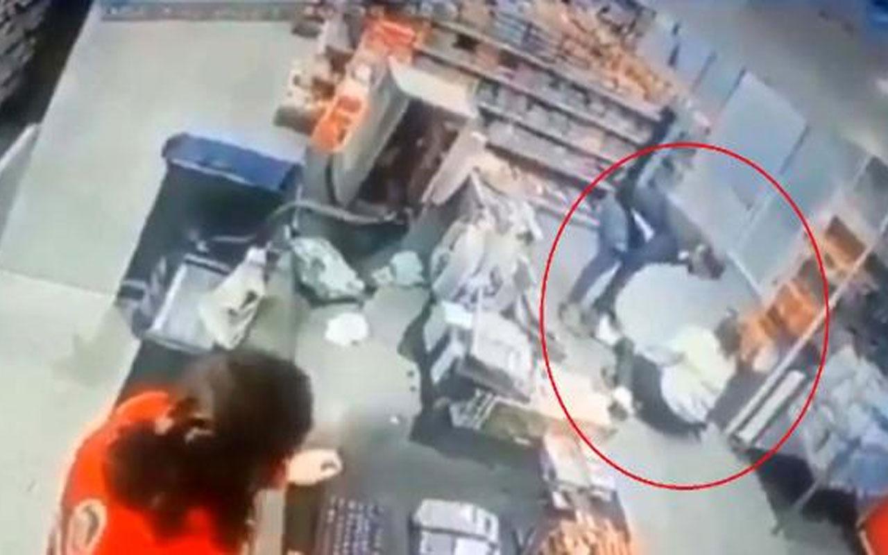 Yozgat'ta markette dövülen kadın: Hiç mi insanoğlu yok orada