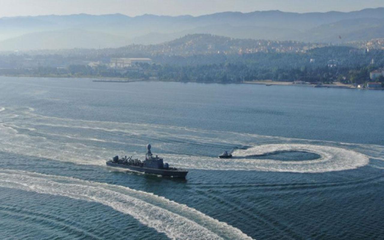 Türkiye'nin en geniş çaplı deniz tatbikatı başladı! Savaş gemileri birer birer denize açıldı