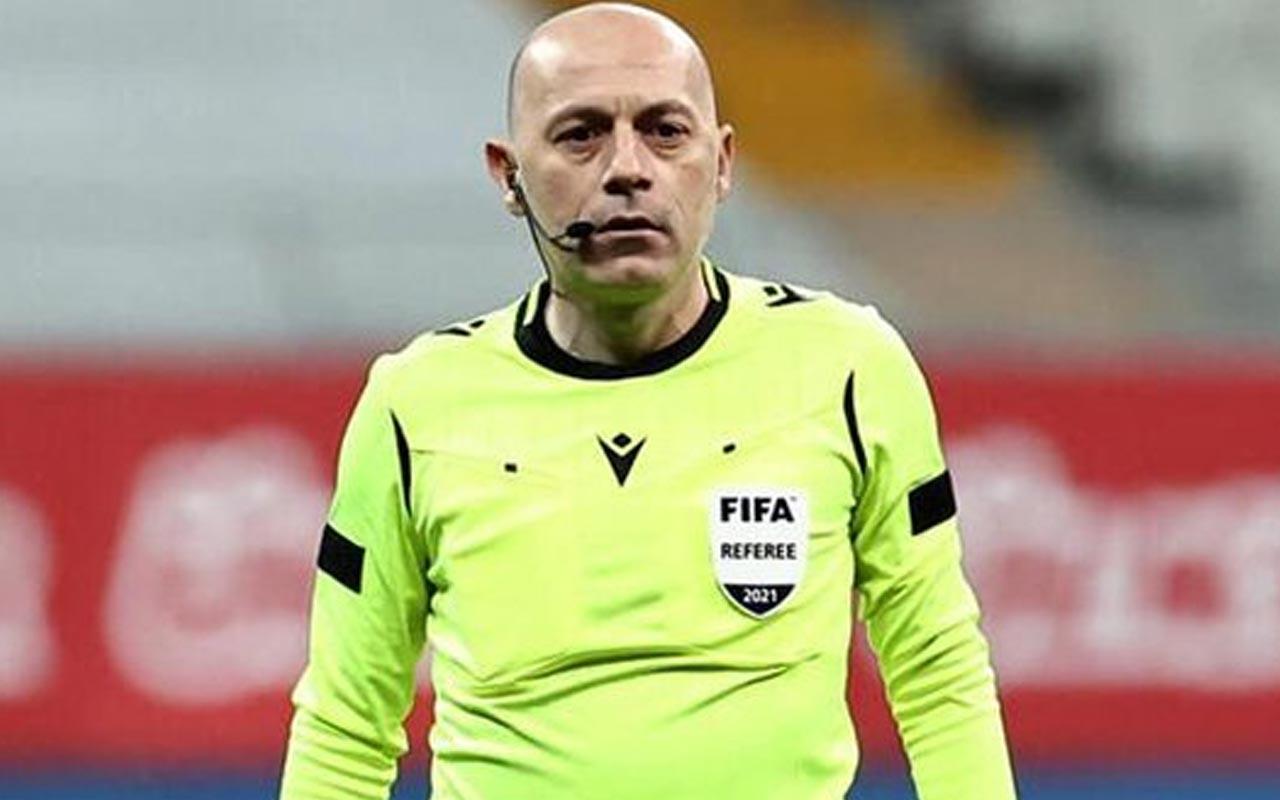 TFF 1'inci Lig Play-Off finalinin hakemi Cüneyt Çakır