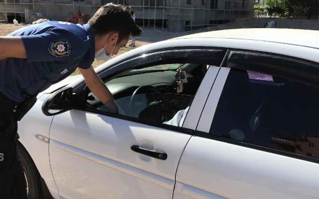 Karaman'da aracında yarı çıplak bulunan kişi: Hava sıcaktı ondan pantolonumu çıkardım