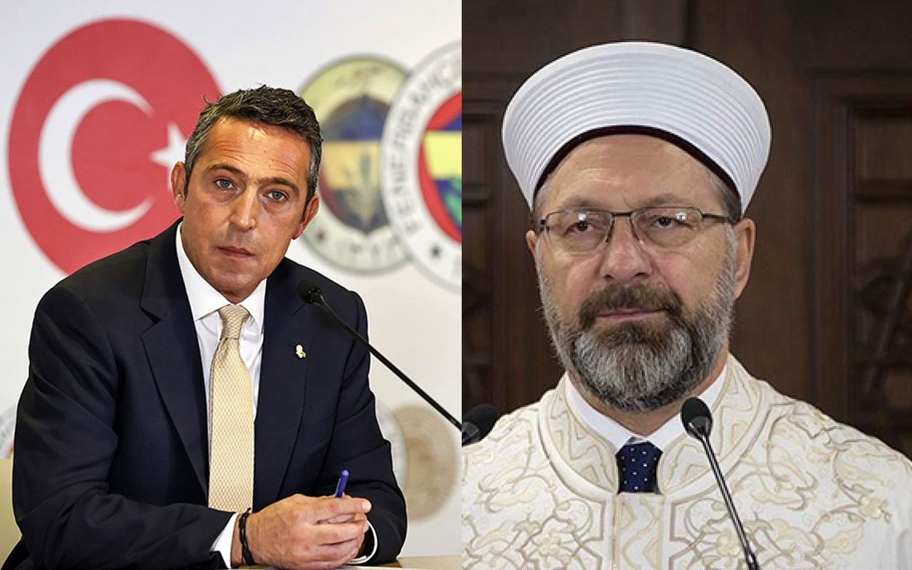 Ali Koç'tan Diyanet İşleri Başkanı Ali Erbaş'a mektup! Yahudi diyen müftüye tepki gösterdi