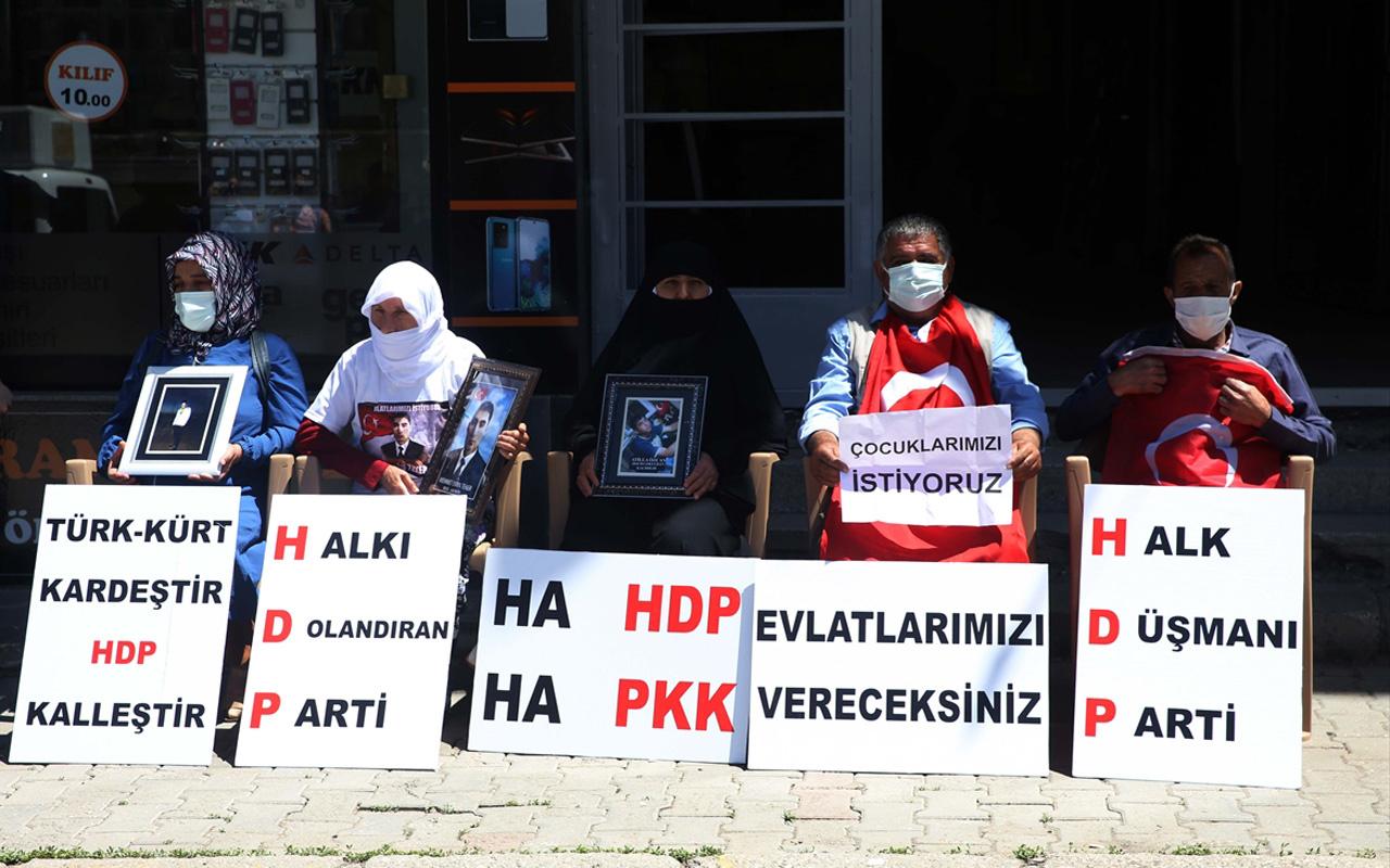 Muş'ta çocukları için HDP binası önünde eylem yapan aile sayısı 5'e yükseldi