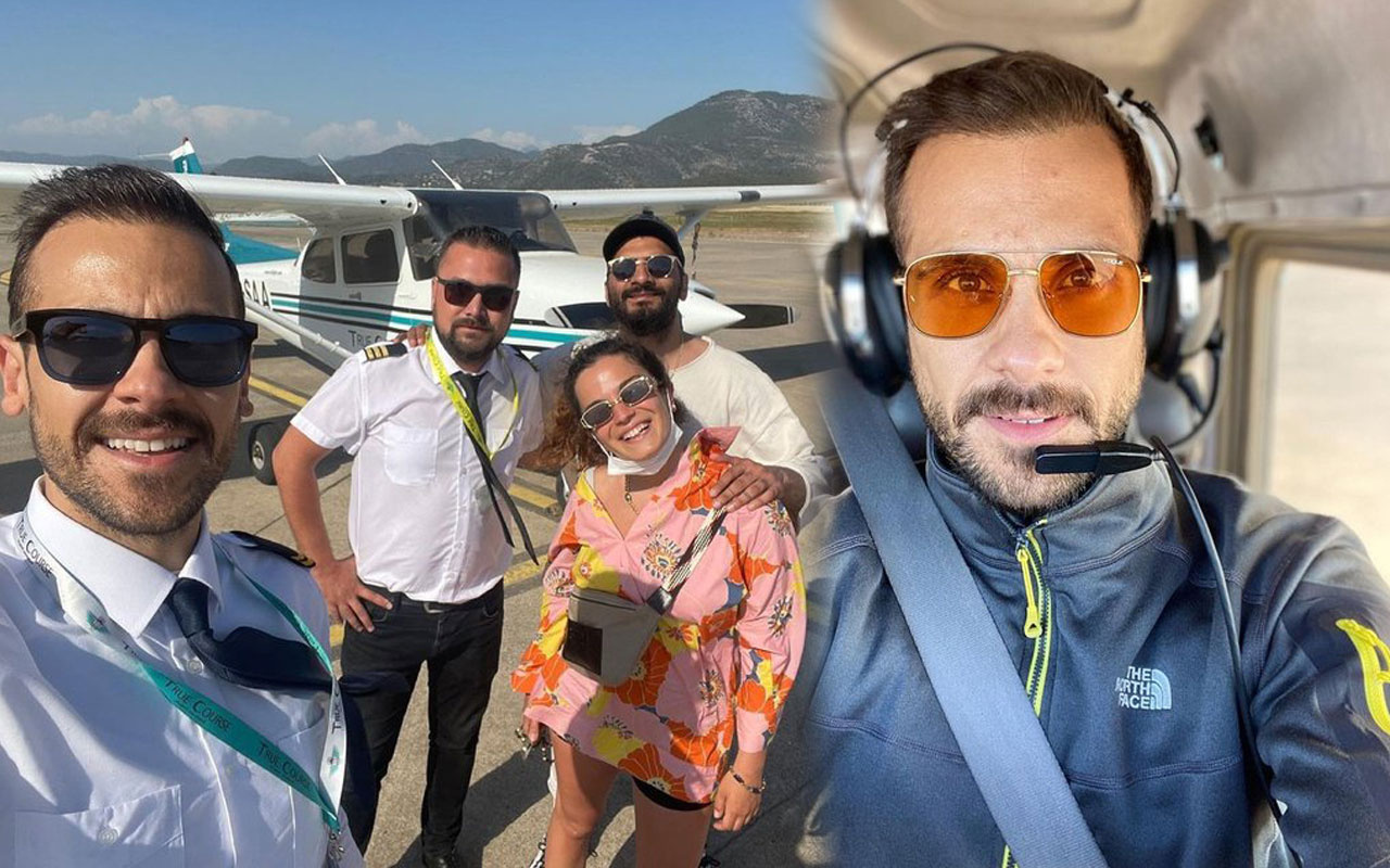 Kilo verince iş bulamayan Ümit Erdim pilot oldu ilk yolcuları bakın hangi ünlüler
