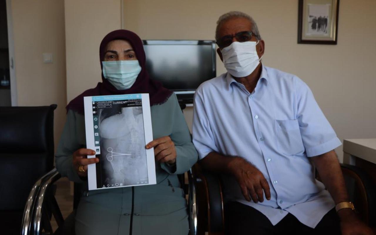 Aydın'da ağrıları dinmeyince hastaneye gitti! Doktorlar gözlerine inanamadı