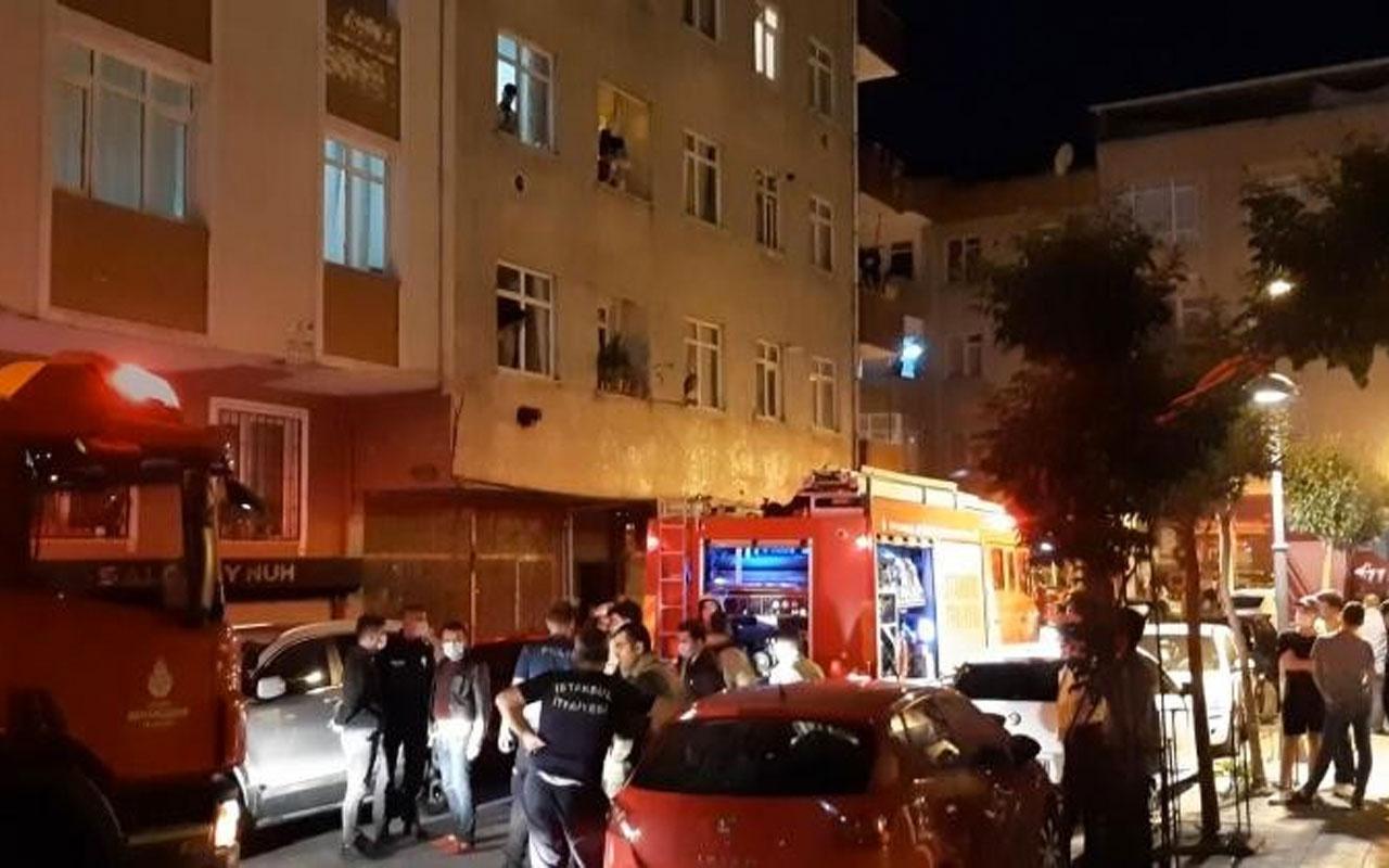 Zeytinburnu'nda çıkan yangında hastaneye kaldırılan yaşlı adam hayatını kaybetti