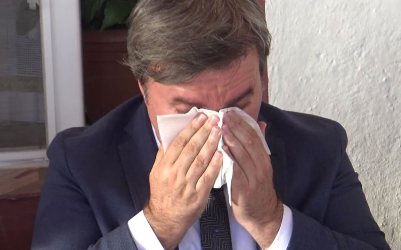 Aksaray Valisi 30 yıldır küs olan iki kardeşi barıştırdı hüngür hüngür ağladı