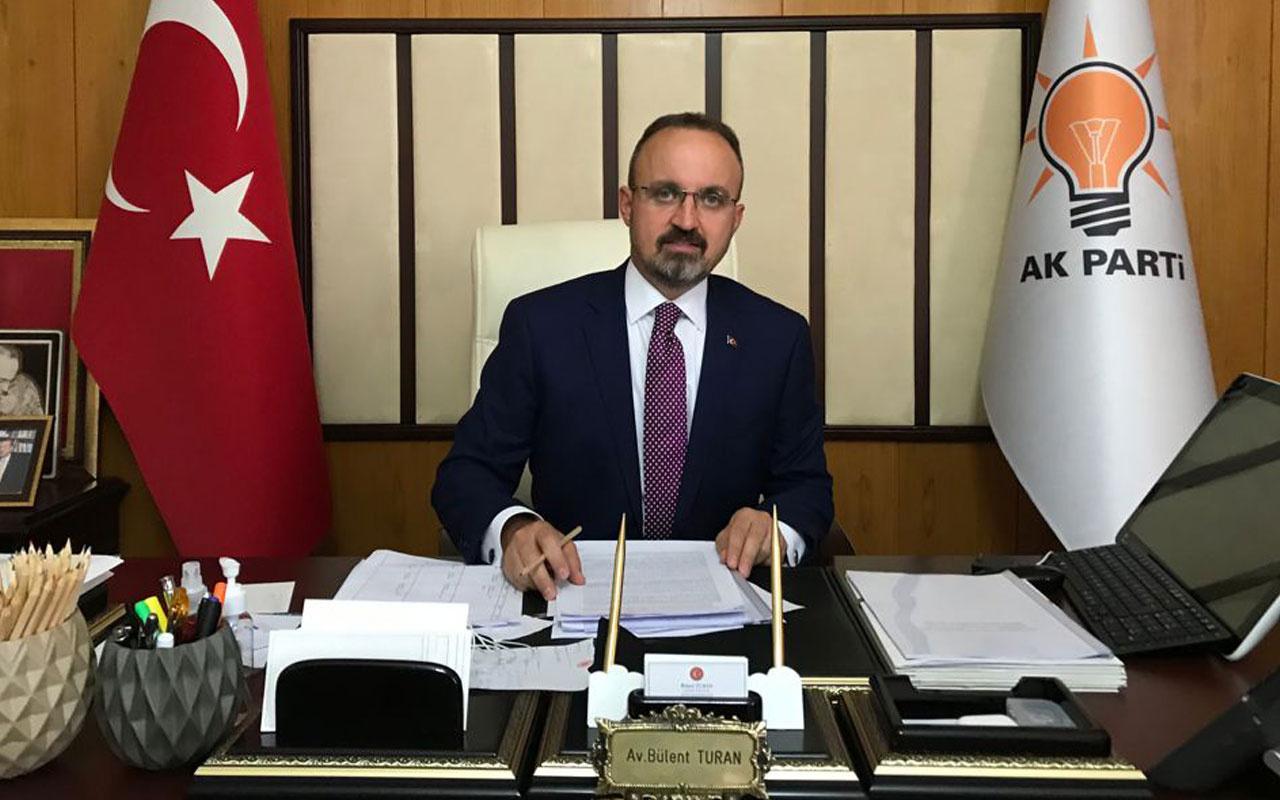 AK Parti'li Bülent Turan: Genel kanaatimiz seçim barajının indirilmesi yönünde