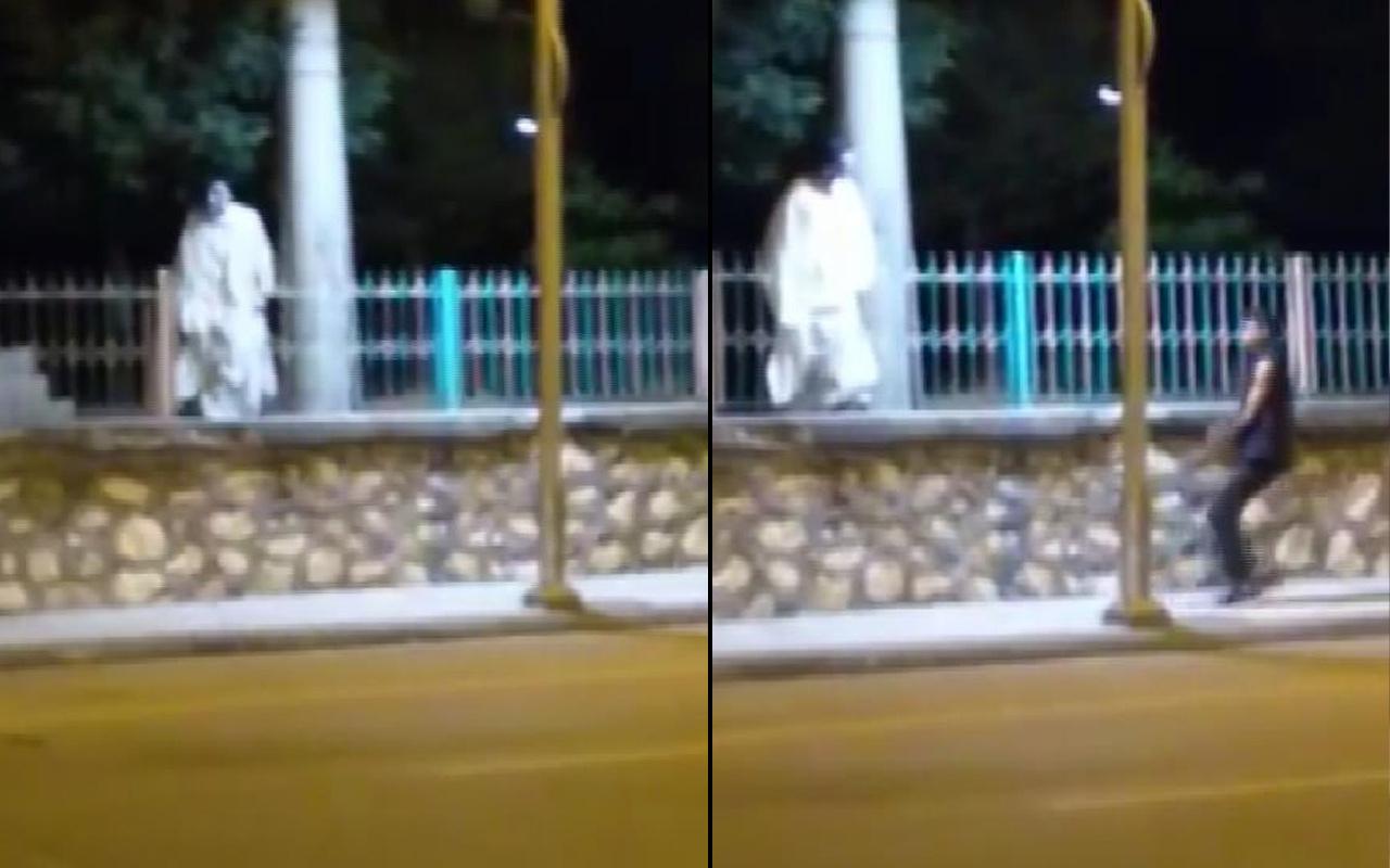 Yer: Malatya! Mezarlıkta beyaz çarşaf şakası herkesi kahkahaya boğdu