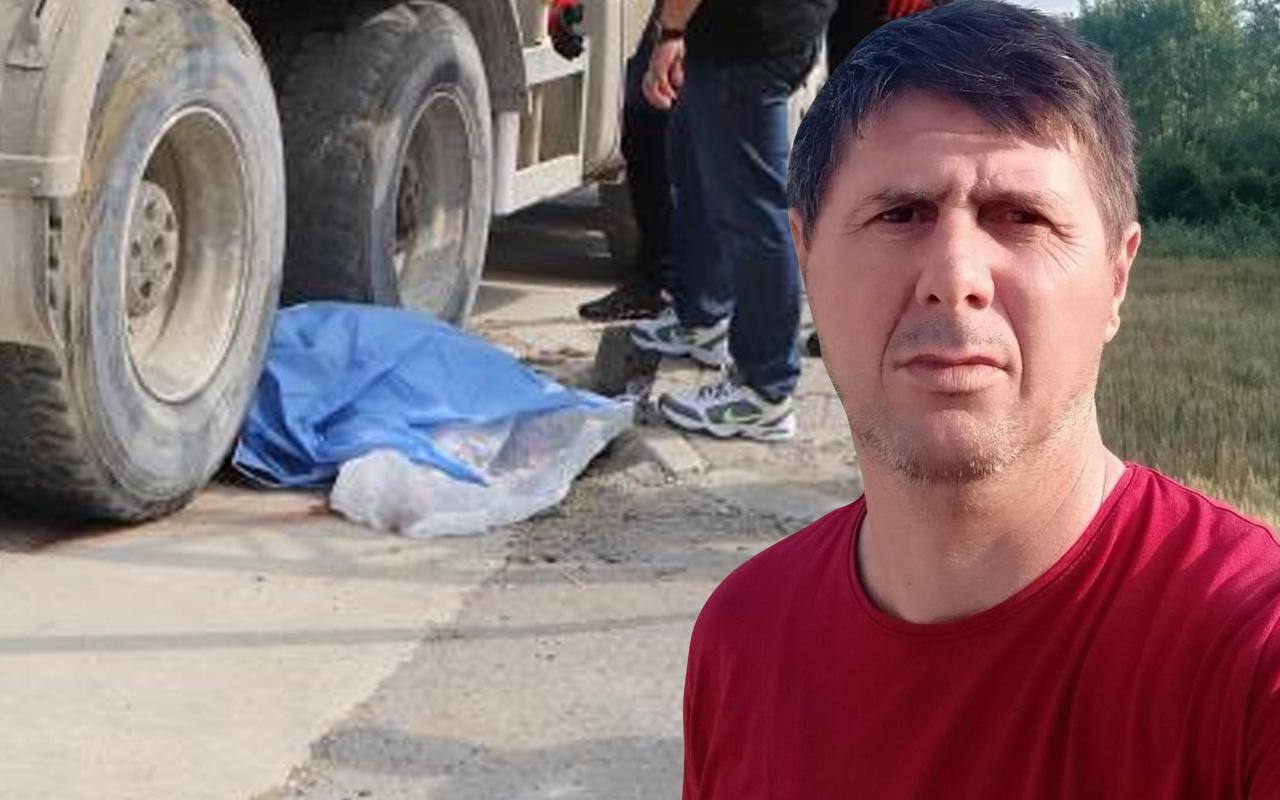 Samsun'da 47 yaşındaki işçi feci şekilde can verdi! Gözyaşları sel oldu