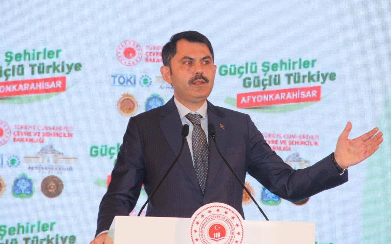 Bakan Murat Kurum: 321 Millet Bahçesinin 57'sini tamamlandı