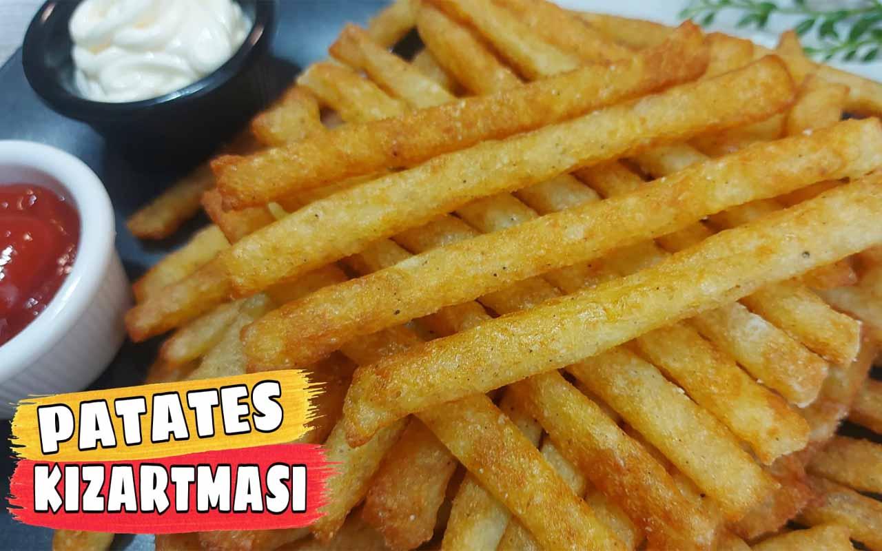 Patates kızartması nasıl yapılır çıtır çıtır lezzet!