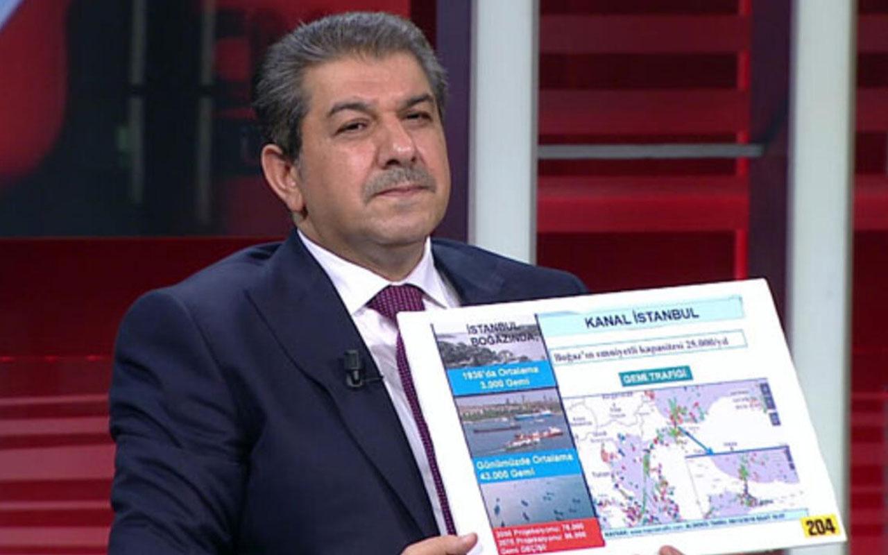 Tevfik Göksu'dan Kanal İstanbul eleştirilerine cevap!