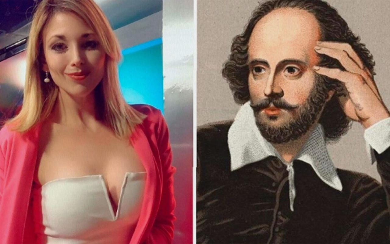 Shakespeare'leri karıştıran sunucu sosyal medyanın diline düştü