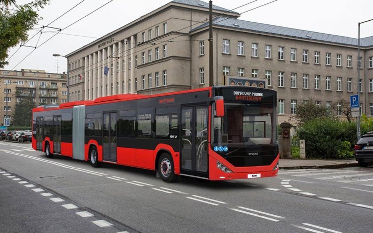 Otokar'dan Slovakya'ya 40 adet otobüs ihracatı
