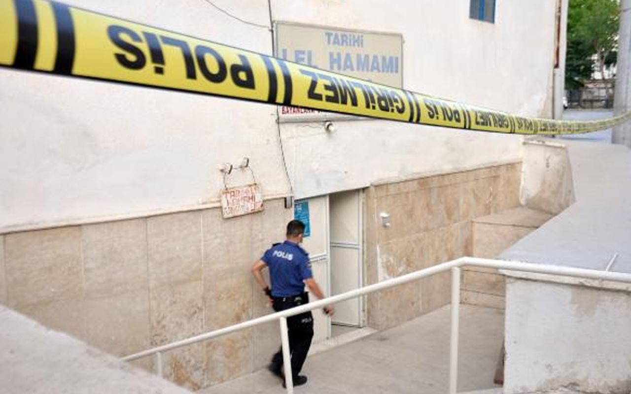 Karaman'da kız arkadaşıyla saunaya giren hamam işletmecisi öldü