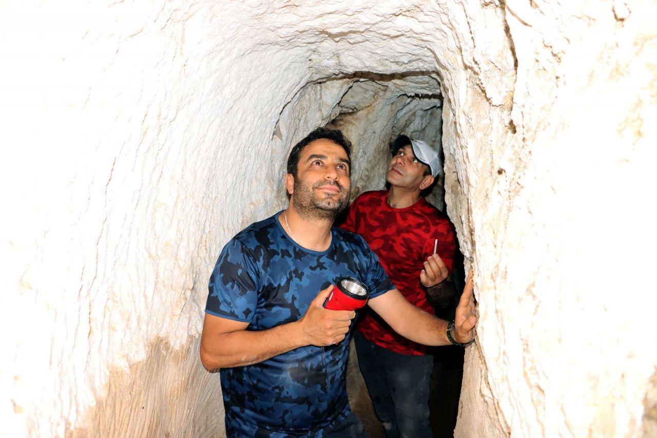 Tesadüfen buldular içeri girmeye korktular! Hatay'da tarihi tüneli Romalılar inşa etmiş