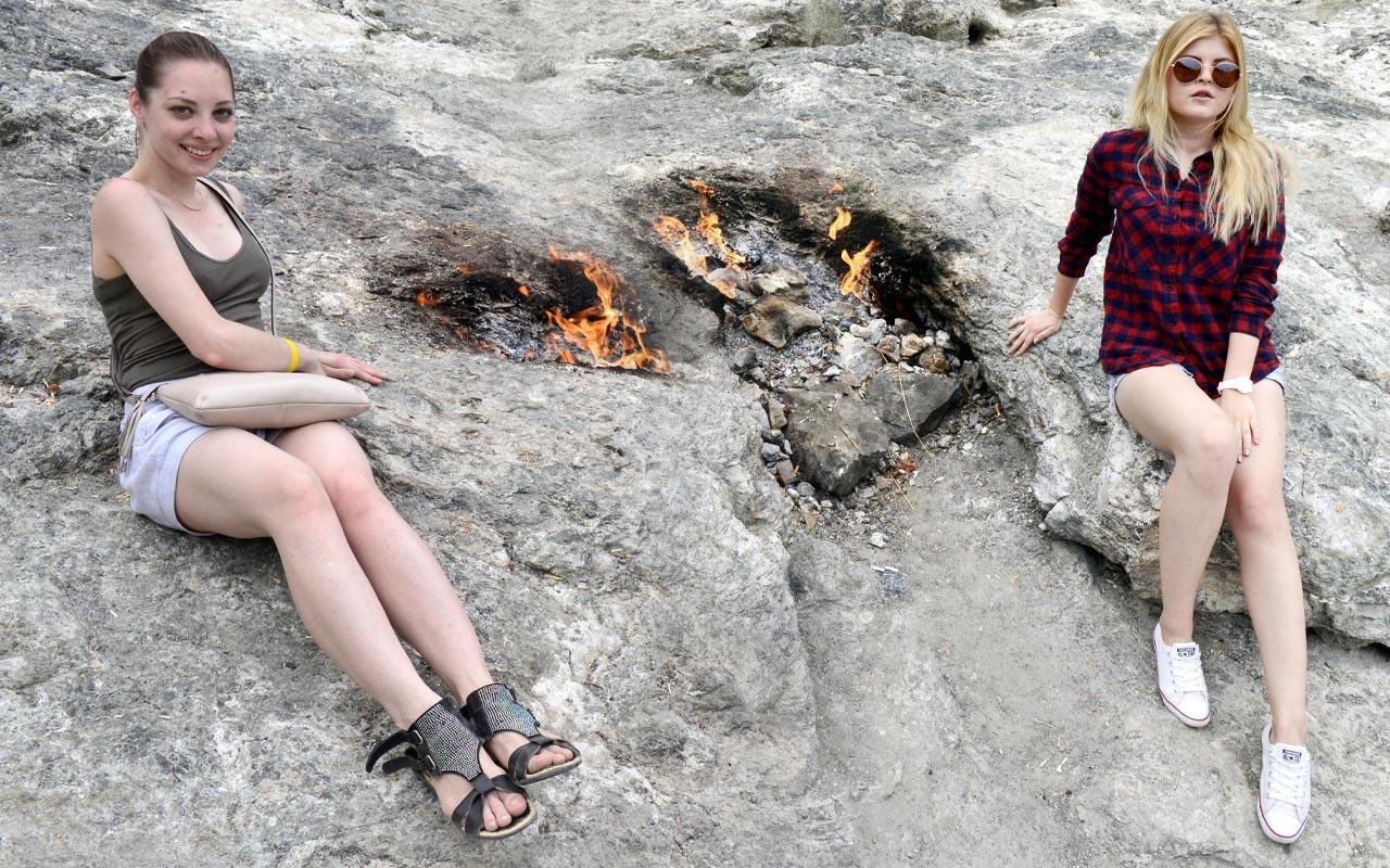 Turistler akın etti Antalya'da gören fotoğraf çekti! İtalyanlar araştırdı sırrı şaşırttı