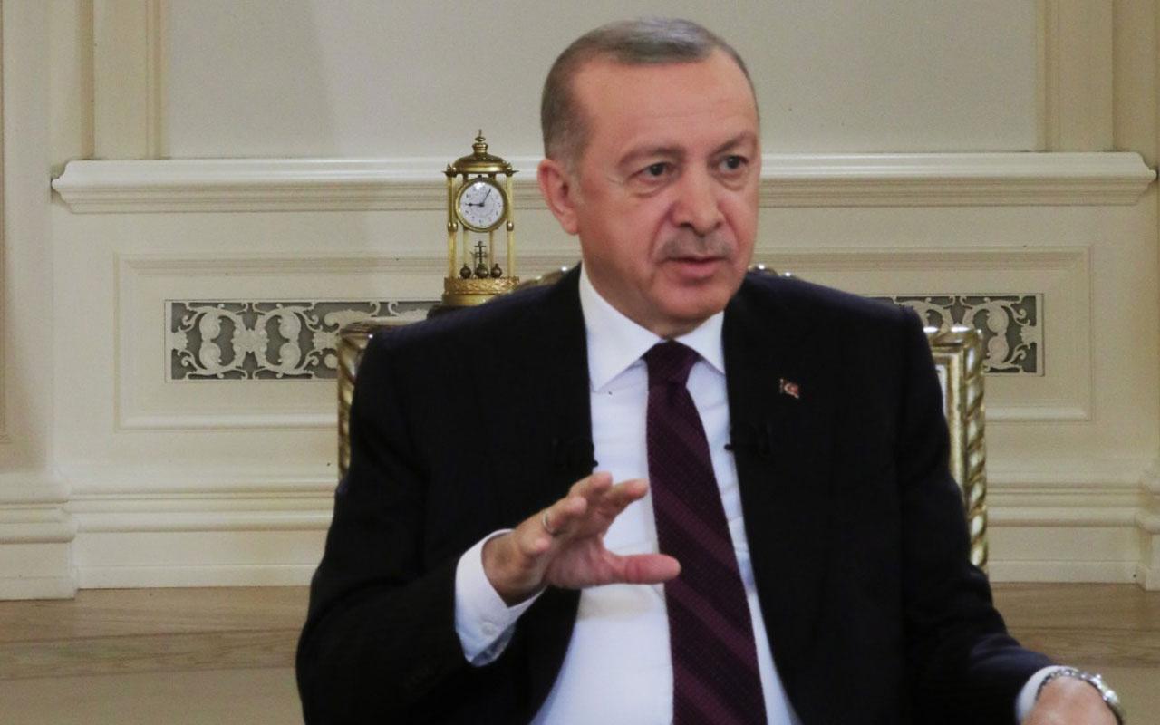 Cumhurbaşkanı Erdoğan'ın televizyon programındaki saatte '09.05' detayı