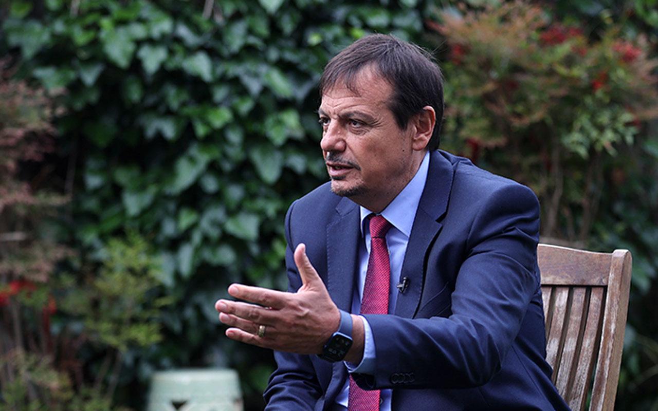 Ergin Ataman uluslararası basına neden Türkçe konuştuğunu açıkladı