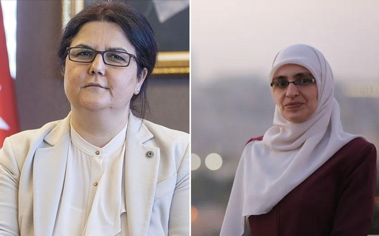 Bakan Derya Yanık, Diyanet İşleri Başkanı Erbaş ve Kudüslü aktivist Halawani ile görüştü