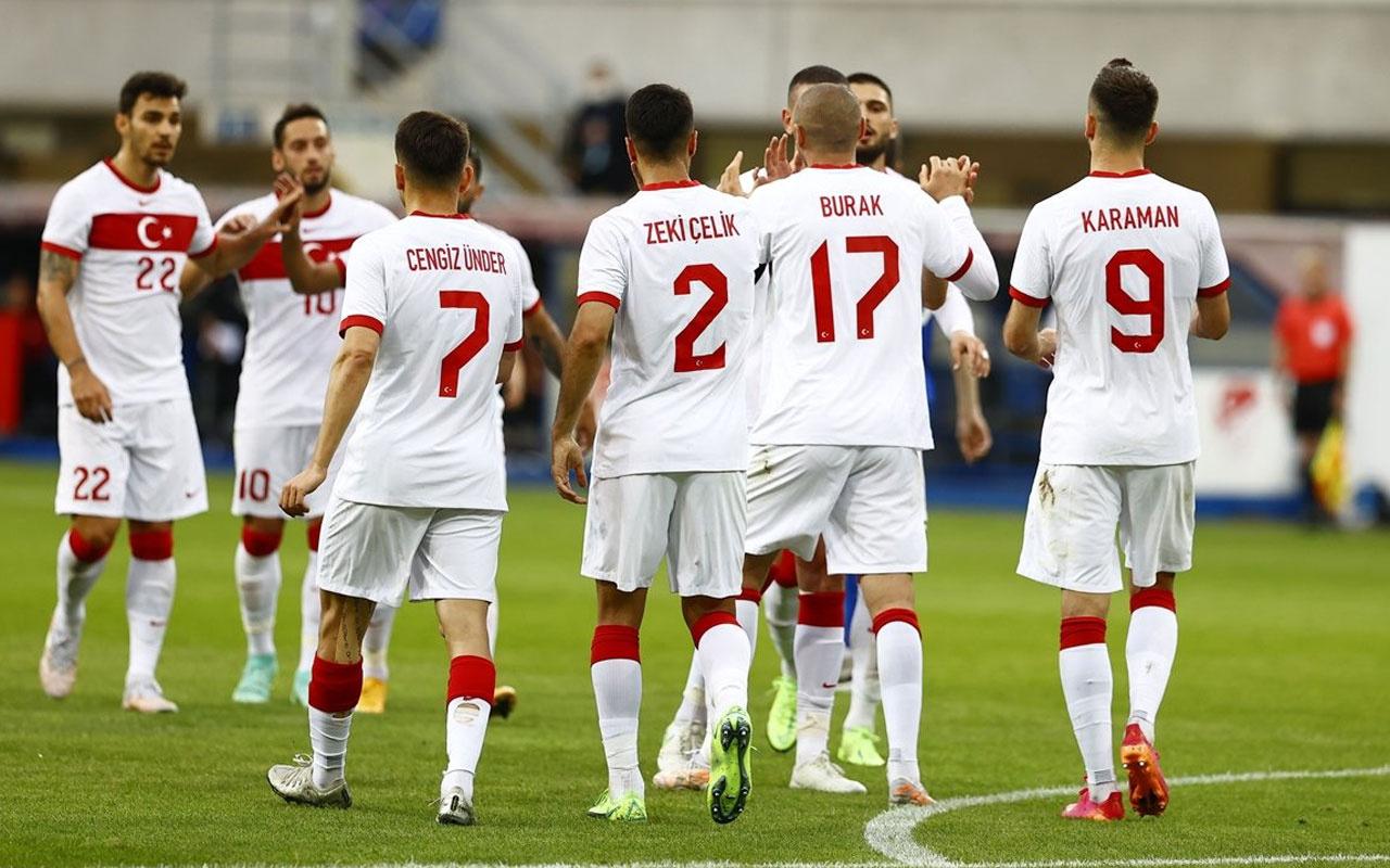 A Milli Takım Moldova'yı 2-0'lık skorla mağlup etti