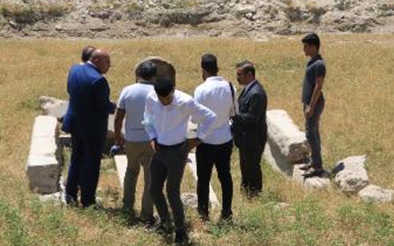 Şanlıurfa'da tampon bölgede 106 yıl önce ölen Alman mühendisin mezarı bulundu
