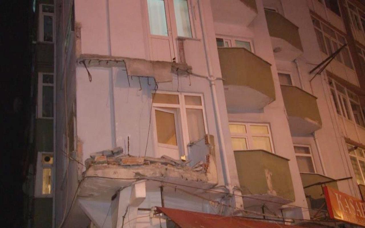 Avcılar'da apartman sakinleri gece yarısı panikle sokağa fırladılar
