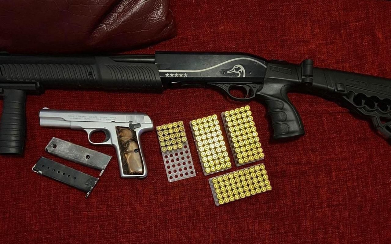 Ankara'da, sosyal medya üzerinden silah ticareti yapan şahıslar yakalandı
