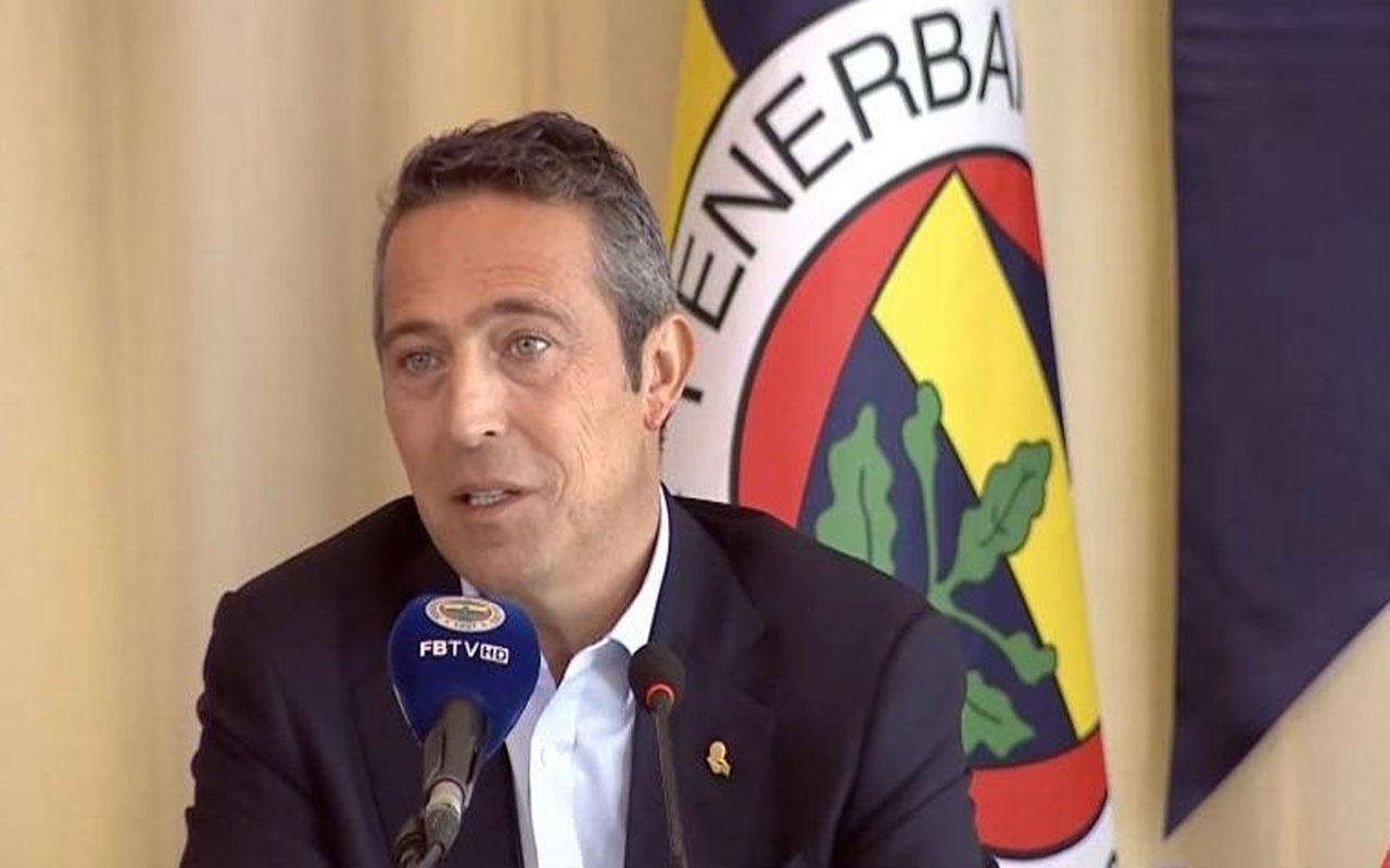 Futbolda şike kumpası davasında karar! Fenerbahçe Başkanı Ali Koç'tan ilk açıklama