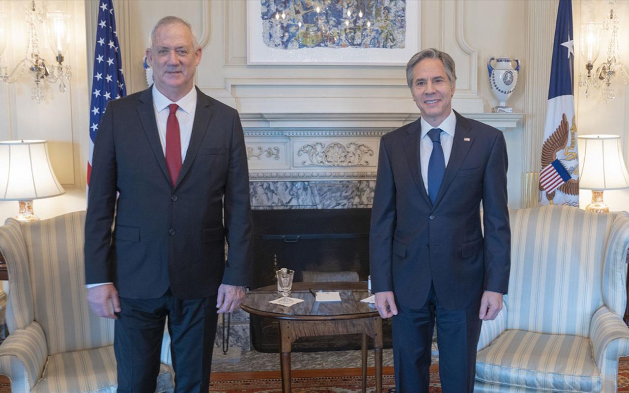 ABD Dışişleri Bakanı Blinken ABD'nin İsrail'e bağlılığını bildirdi çok mutlu olduğunu söyledi