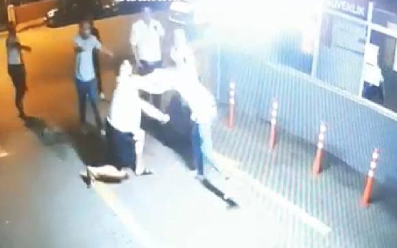 Kadıköy'de polisin bıçaklandığı olayın güvenlik kamerası görüntüleri ortaya çıktı