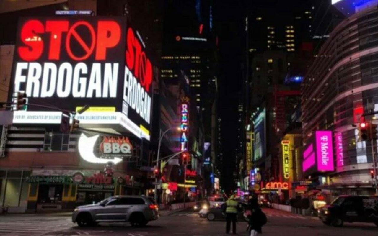 'Stop Erdoğan' bilboardları için 2 FETÖ'cü hakkında iddianame hazırlandı