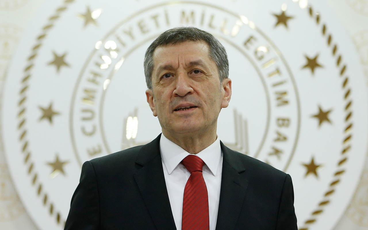 Milli Eğitim Bakanı Ziya Selçuk'tan 'LGS' mesajı
