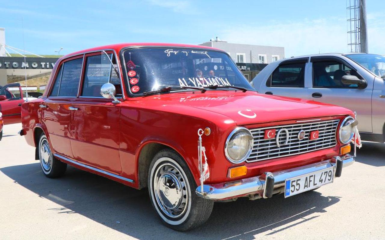 İkinci el otomobil pazarı açıldı herkes dert yandı 1974 model araca 30 bin TL istedi