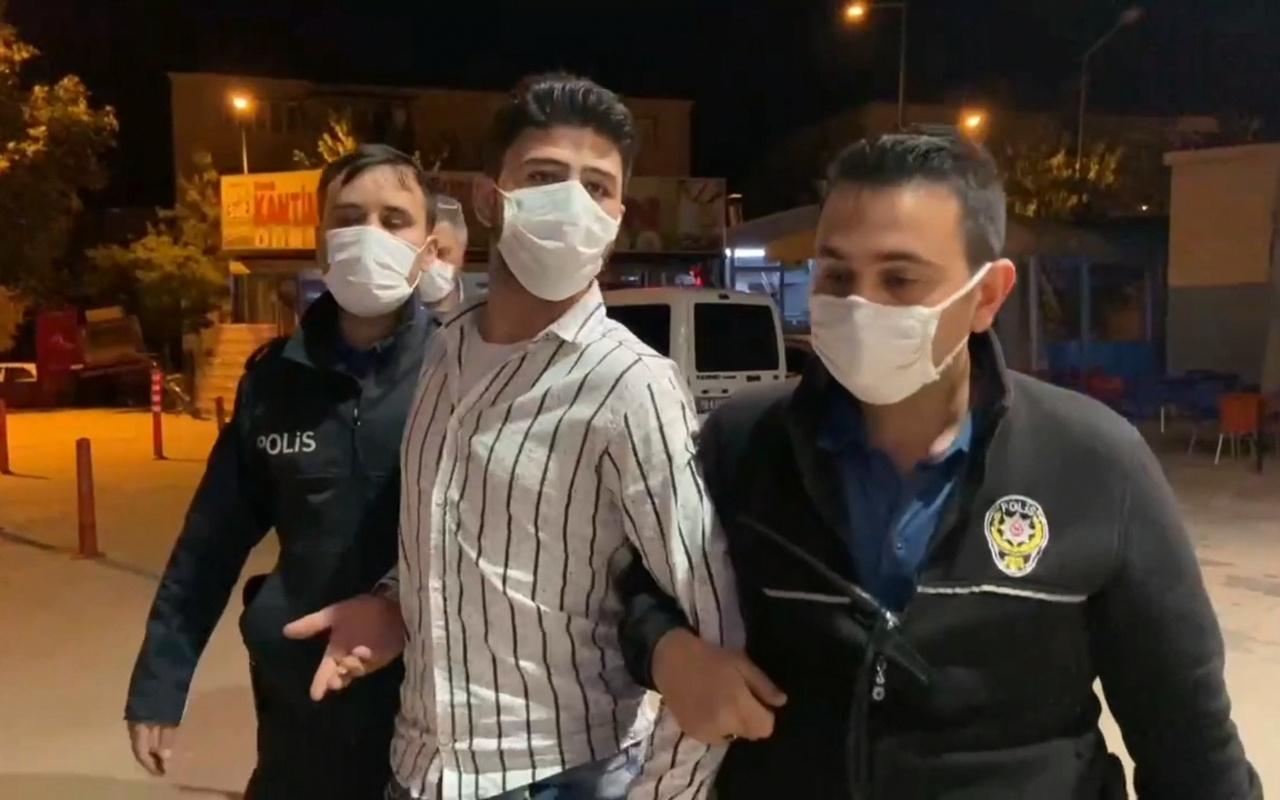 Bursa'da Suriyelinin üzerinden çıkanlar şaşkına çevirdi! Kendisini...