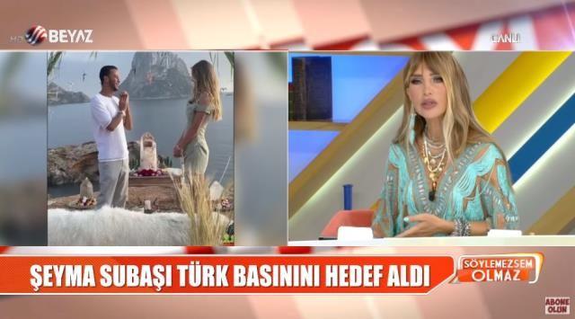Şeyma Subaşı yine Türk basınını hedef aldı Seren Serengil demediğini bırakmadı