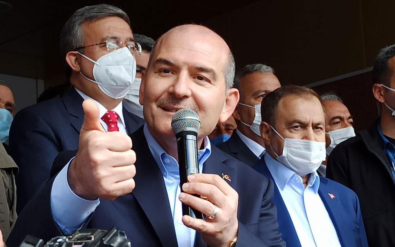 İçişleri Bakanı Süleyman Soylu'dan doğalgaz keşfi yorumu: Varsın çatlasınlar patlasınlar