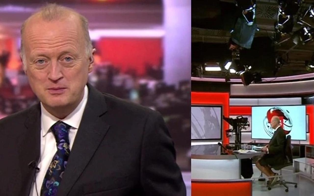 Dünya bu görüntüleri konuşuyor! BBC sunucusu Shaun Ley alay konusu oldu