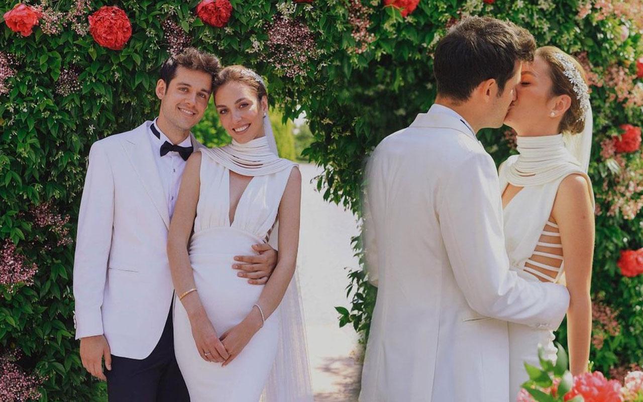 YouTuber Orkun Işıtmak ile Merve Yorgancılar evlendi işte nikahtan kareler