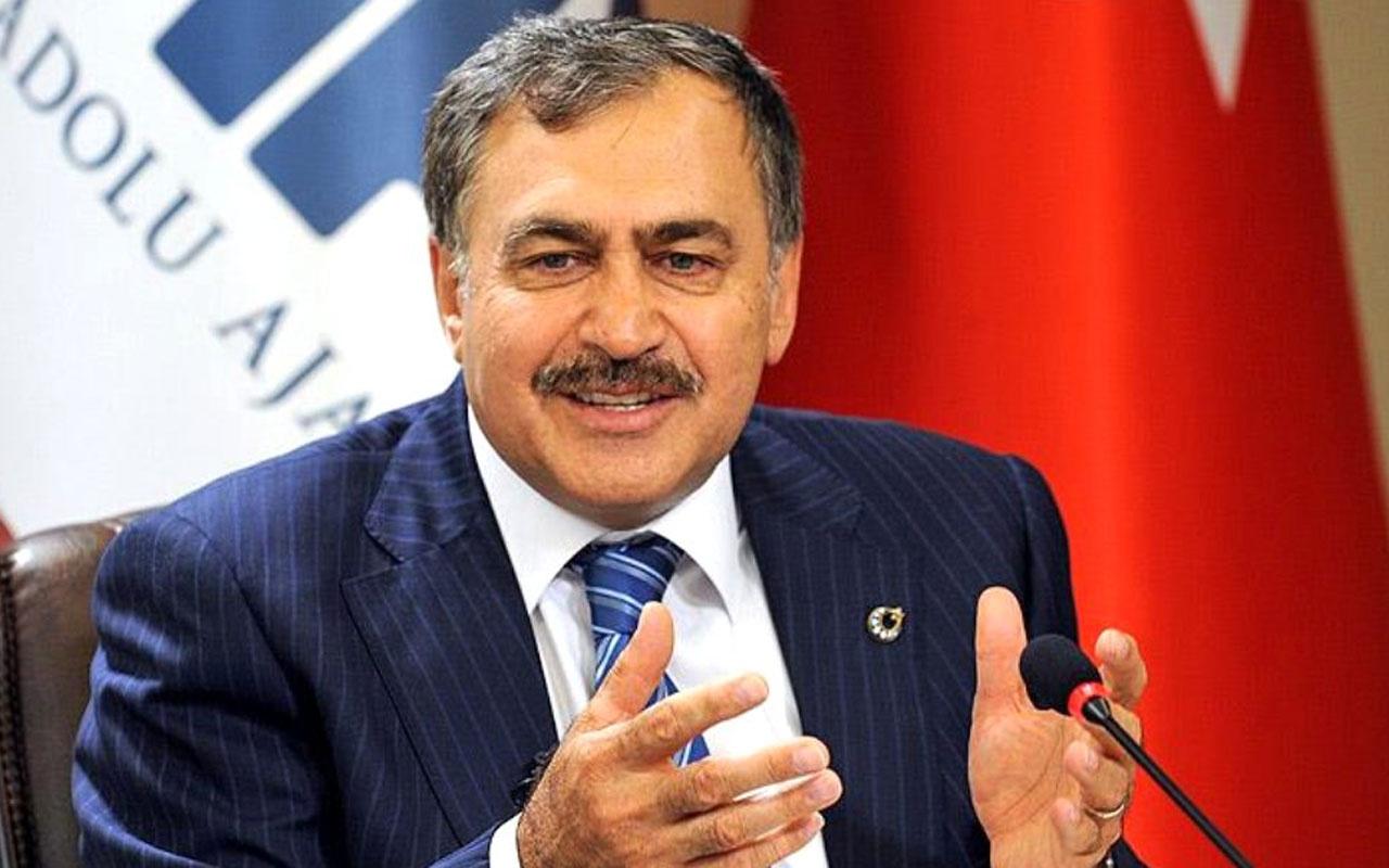 Veysel Eroğlu'ndan muhalefete erken seçim resti