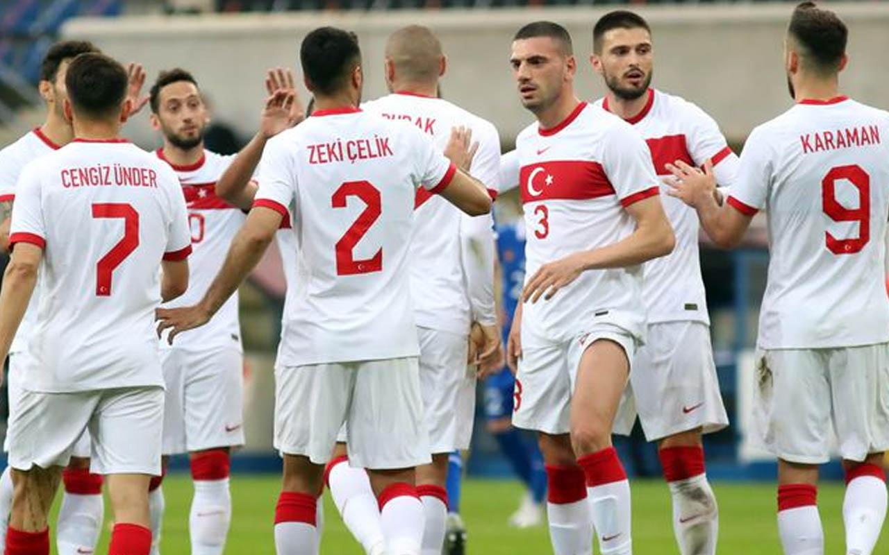 A Milli Futbol Takımımızda forma numaraları belli oldu