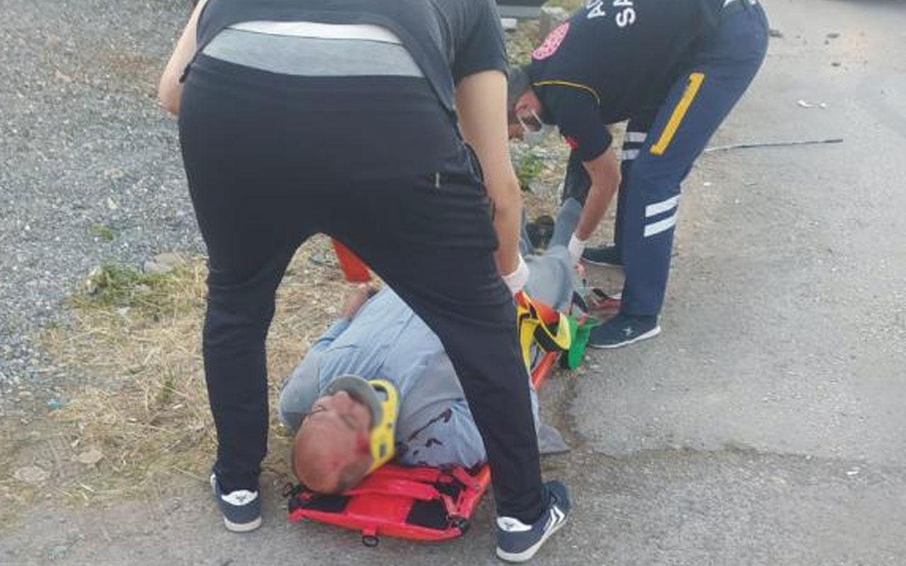 Adıyaman'da hafif ticari araç ile otomobil çarpıştı: 3'ü çocuk 9 yaralı