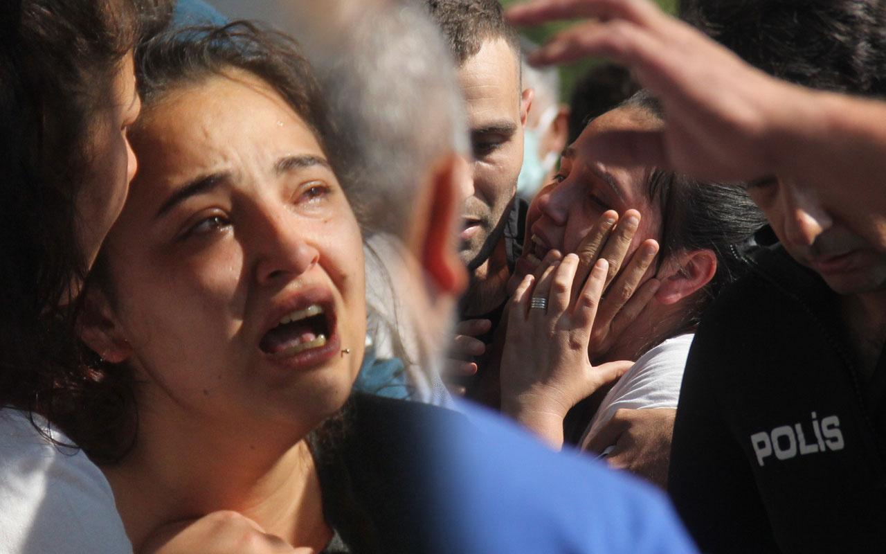 Adana'da kaybolan genç ölü bundu ceset çıkarılırken yakınları gözyaşlarına boğuldu