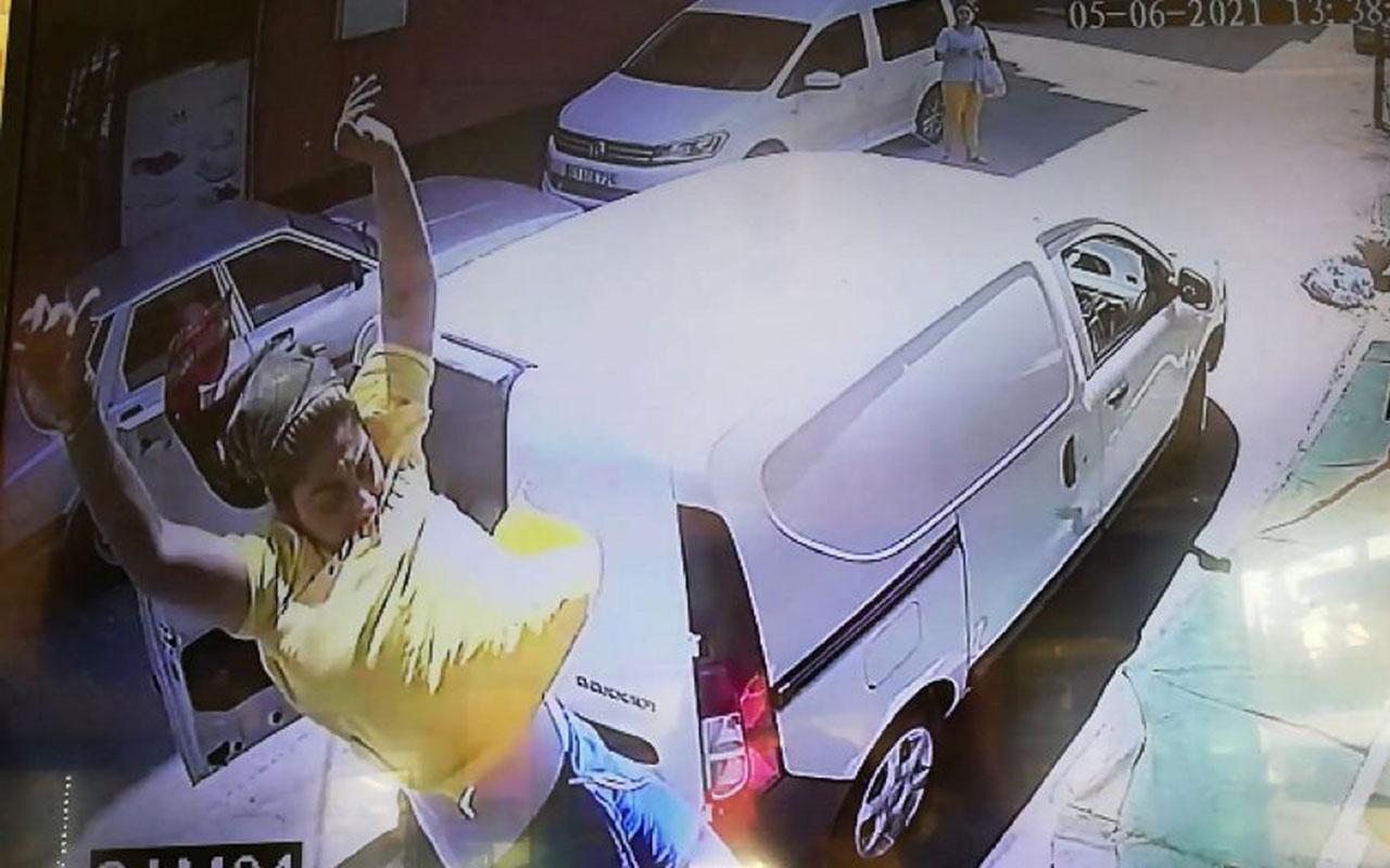 Kocasıyla tartışmaktan bıkan kadın kendini camdan attı!