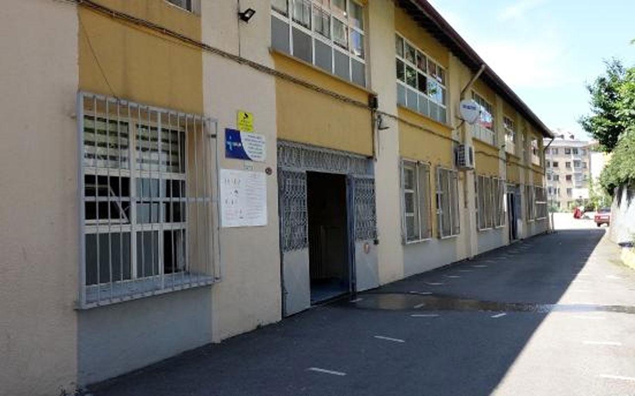 Trabzon'da okul bahçesinde dehşet! Sevgilisini bıçaklayarak öldürdü