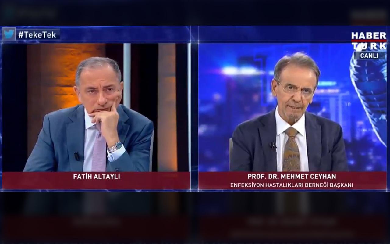 İki farklı aşı olmak tehlikeli mi? Prof. Dr. Mehmet Ceyhan cevapladı